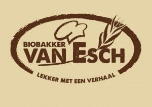 biobakker van esch logo bruine achtergrond