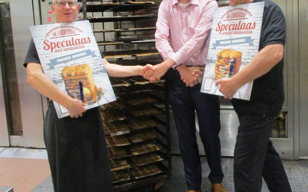 Ambachtelijke bakker Van Esch is opnieuw de lekkerste speculaasbakker van de provincie Groningen