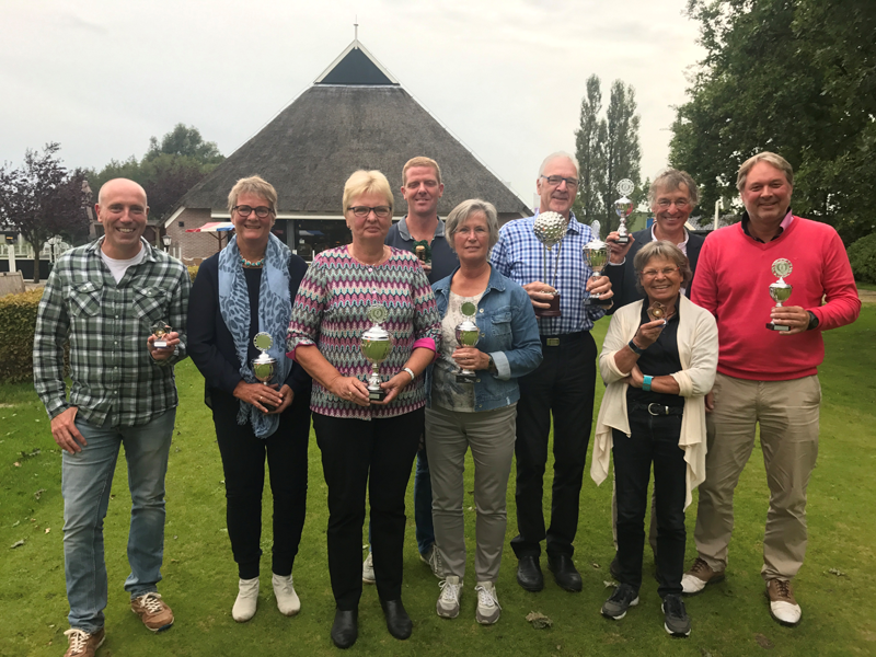 Ieke en Berend Thijs grote winnaars Norger Masters 2017
