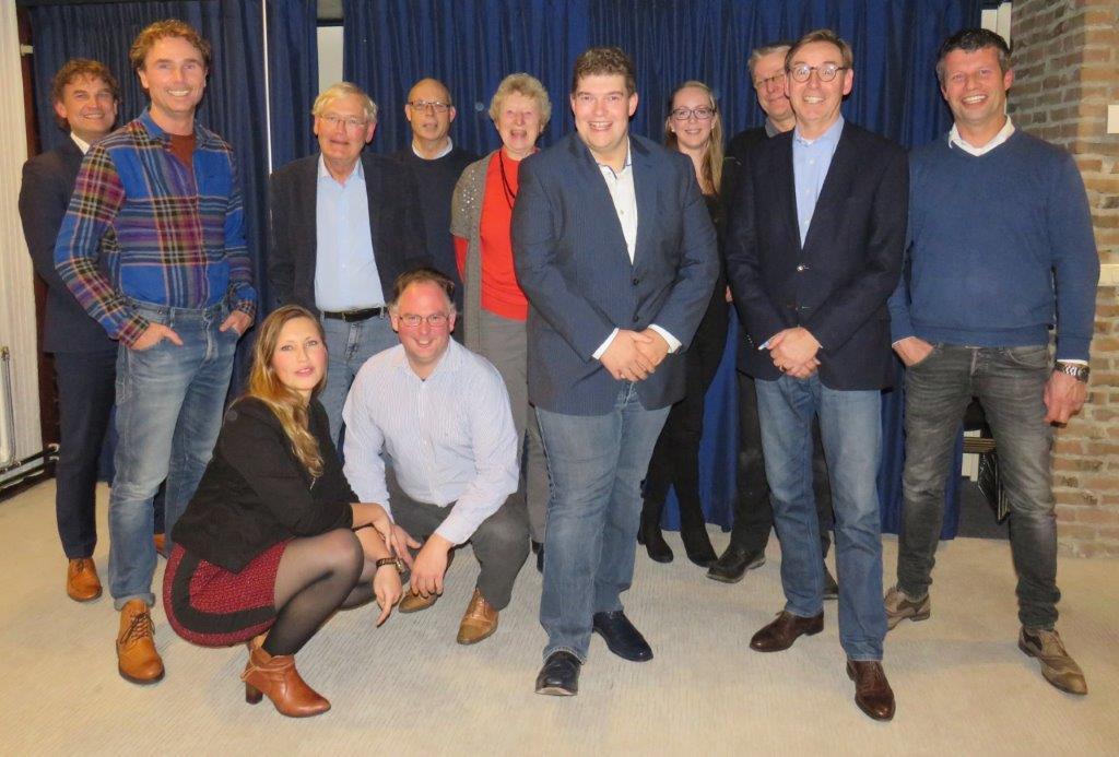 Met Robert Meijer als lijsttrekker en Nanda Emmens als hoogst geplaatste vrouw kiest VVD Noordenveld voor verjonging