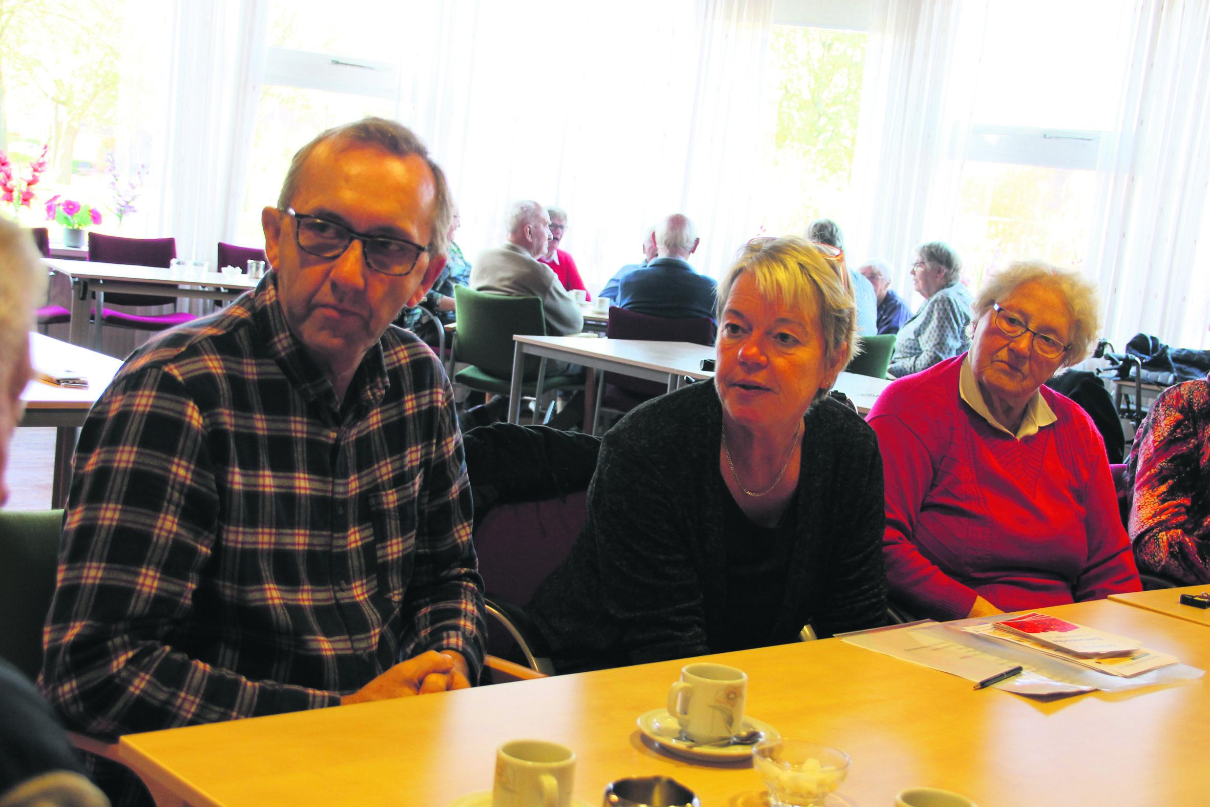 Bewoners De Garve in gesprek in Welzijn in Noordenveld